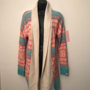 ROXY: Tribal Print Pastels Sweater